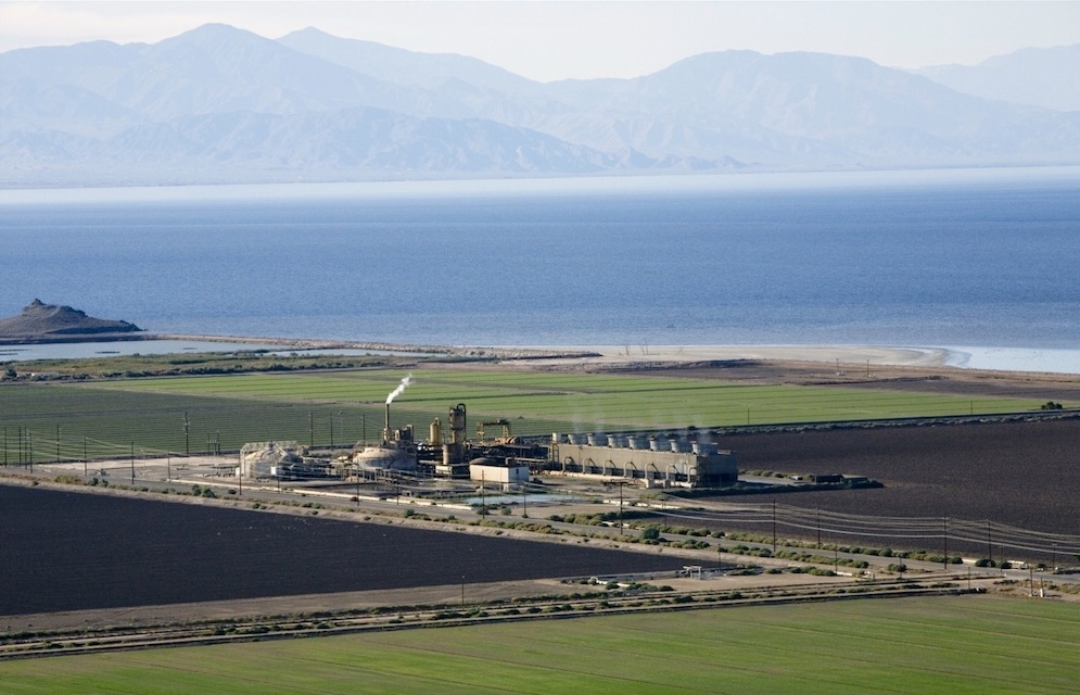 One of 10 geothermal plants operated by Berkshire Hathaway Energy's CalEnergy at the Salton Sea. (Courtesy Berkshire Hathaway Energy)