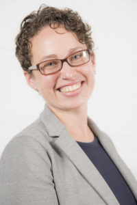 Berkeley Lab researcher Anna Spurlock (Credit: Marilyn Sargent/Berkeley Lab)