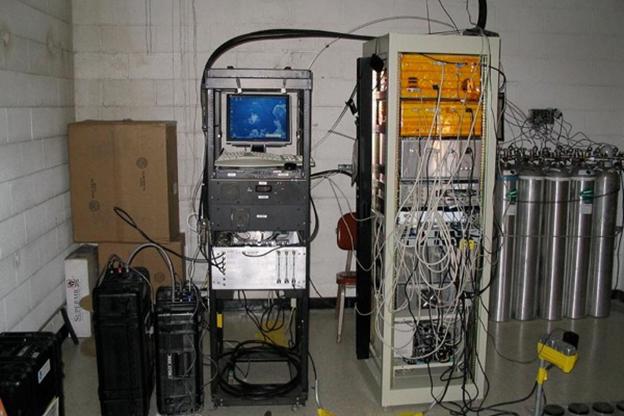 Emissions testing equipment
