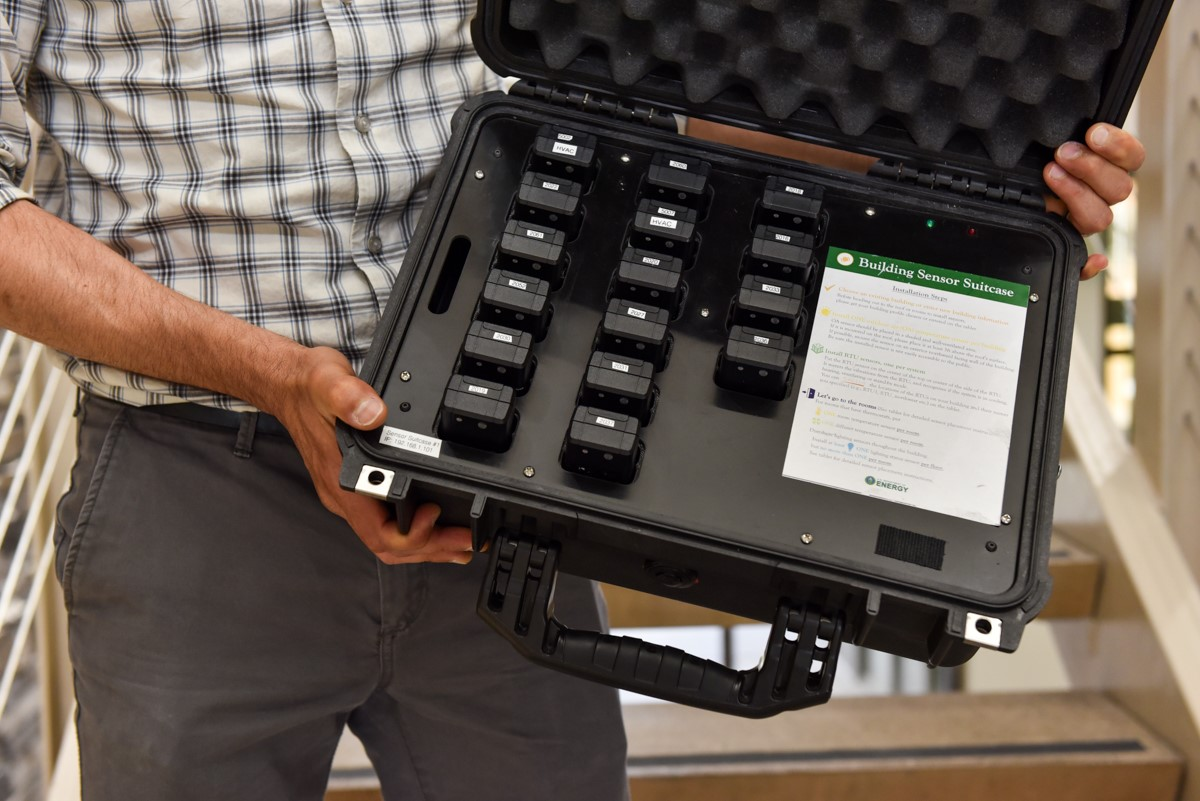 Sensor Suitcase