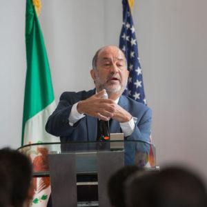 speaker at Mexico Energy Initiative